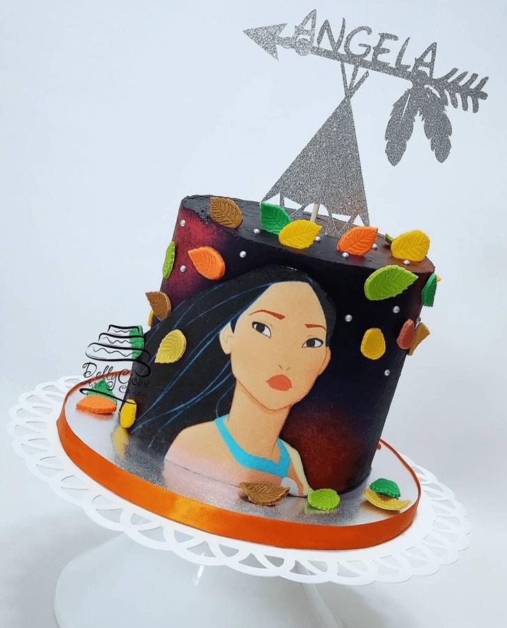 Enticing Pocahontas Cake