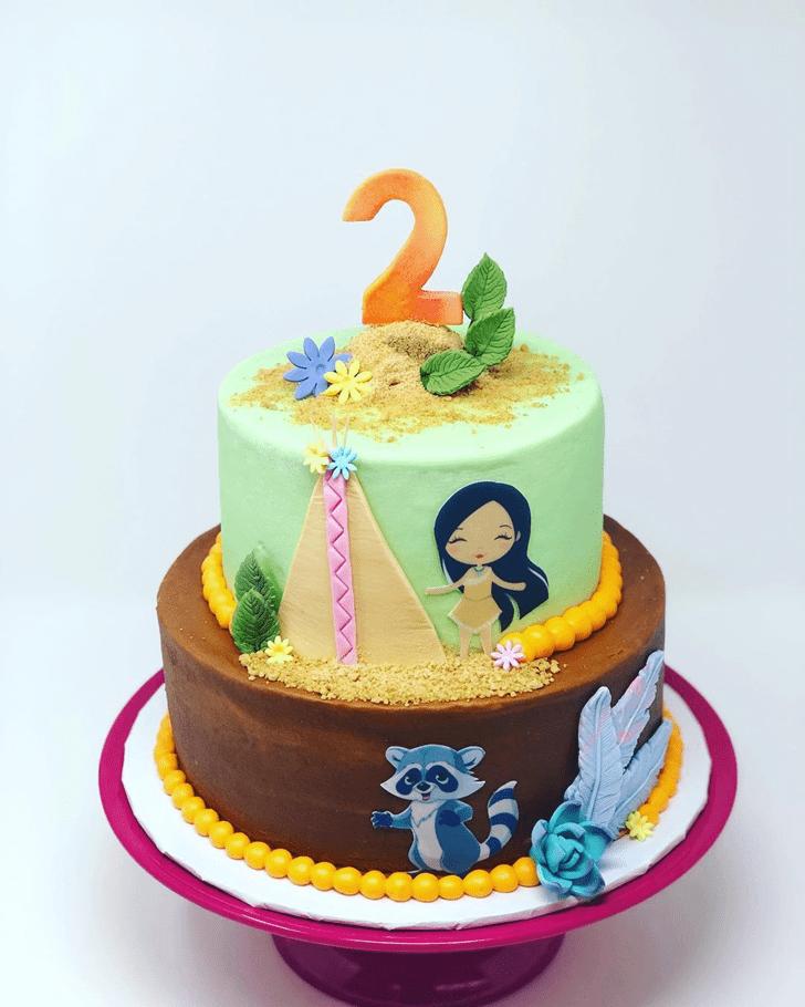 Fetching Pocahontas Cake