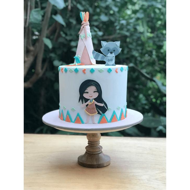 Fine Pocahontas Cake