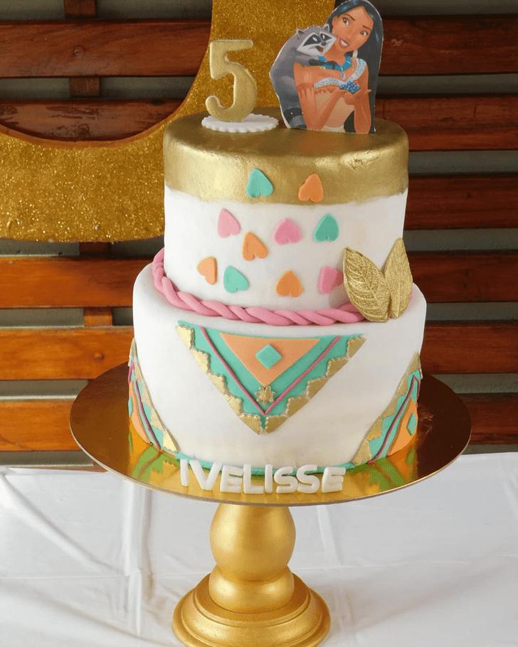 Gorgeous Pocahontas Cake