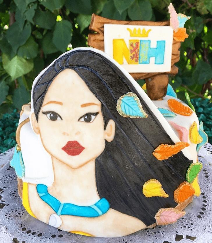 Graceful Pocahontas Cake
