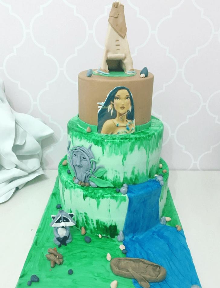 Grand Pocahontas Cake