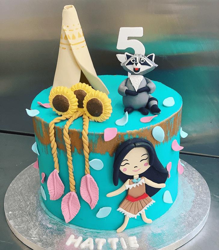 Ideal Pocahontas Cake
