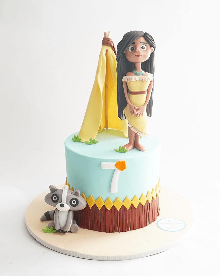 Marvelous Pocahontas Cake