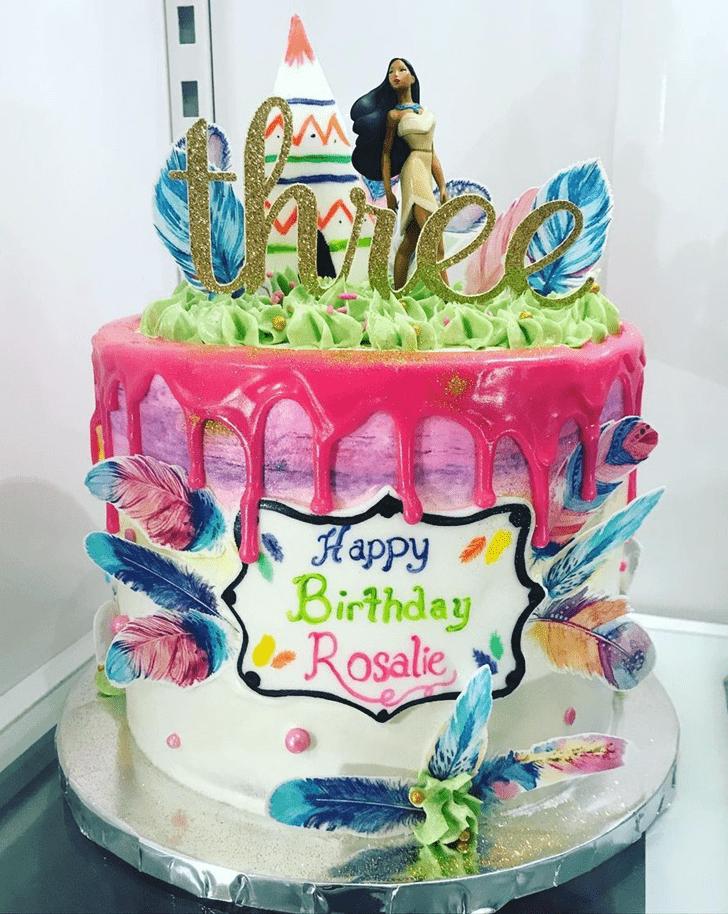 Mesmeric Pocahontas Cake