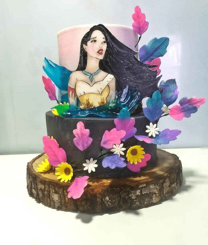Radiant Pocahontas Cake