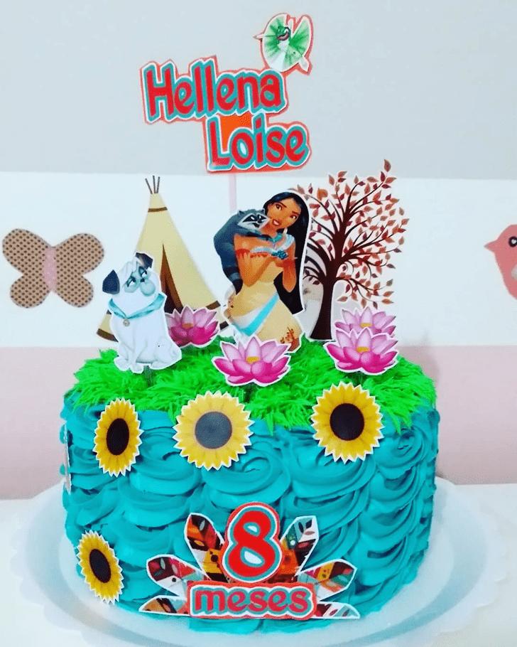 Ravishing Pocahontas Cake