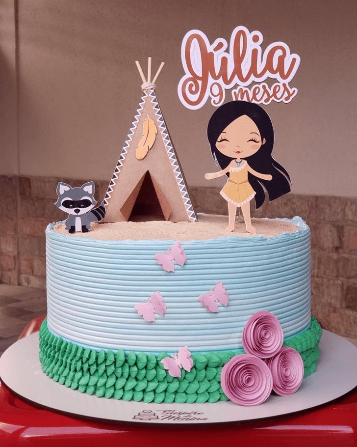 Resplendent Pocahontas Cake