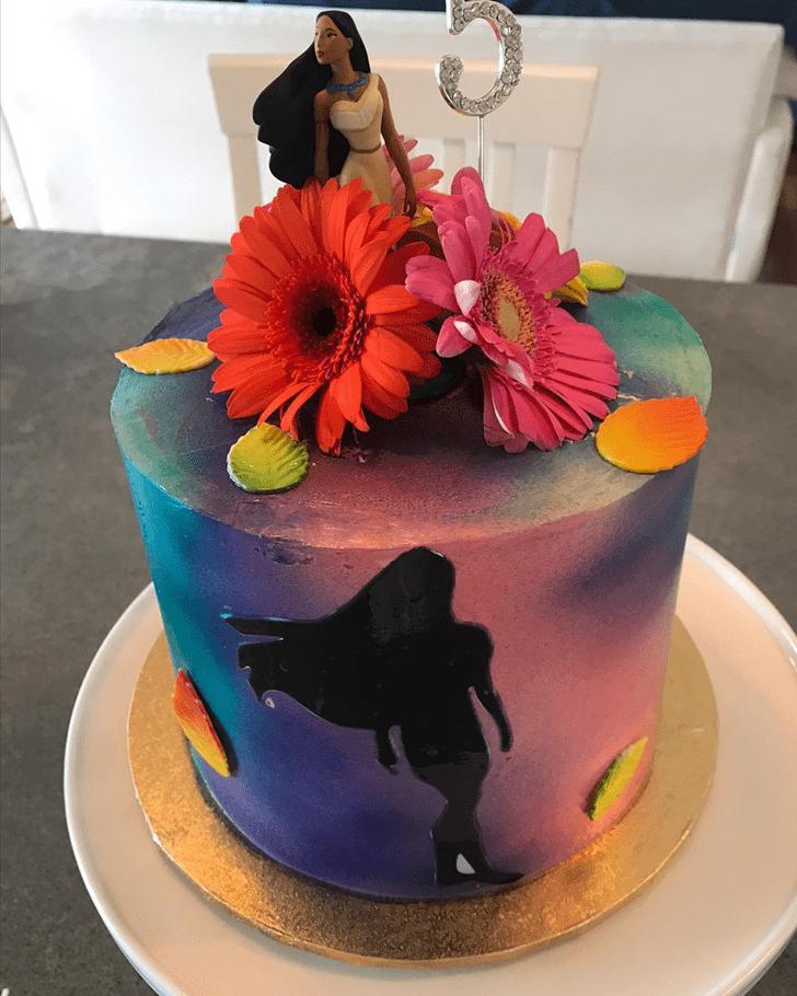 Shapely Pocahontas Cake