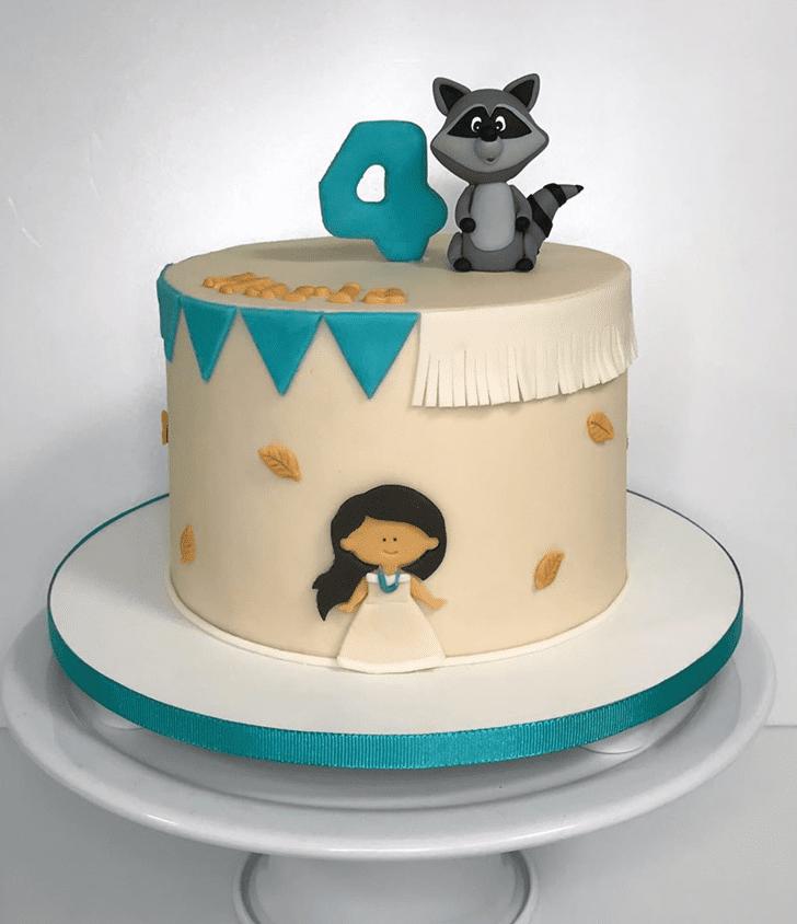 Splendid Pocahontas Cake