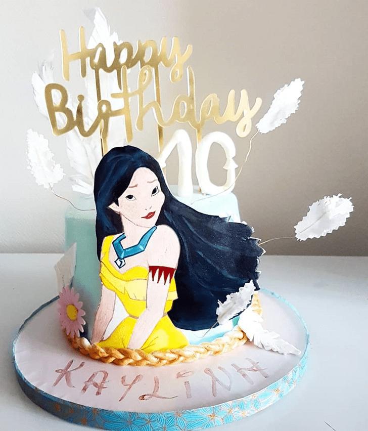 Stunning Pocahontas Cake