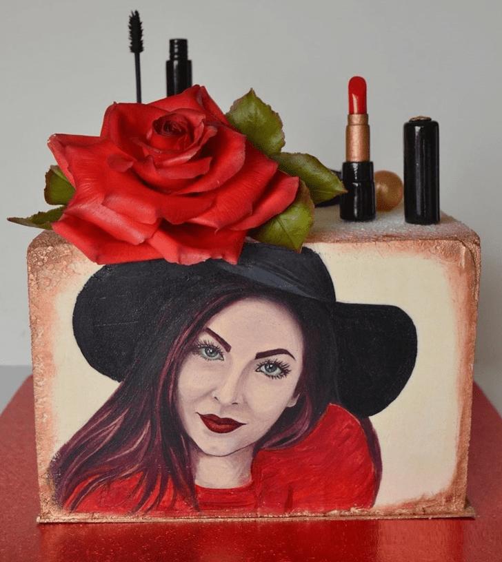 Adorable Pretty Woman Cake