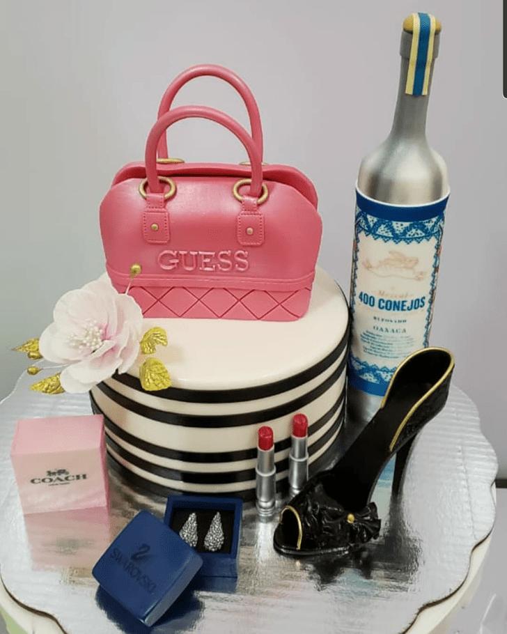 Alluring Pretty Woman Cake