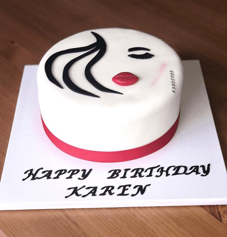 Classy Pretty Woman Cake