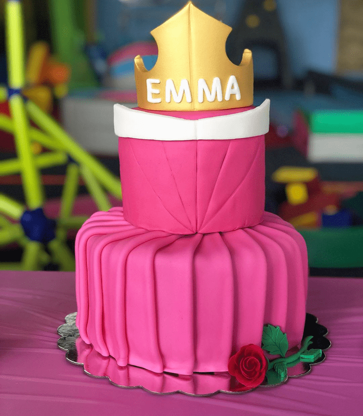 Delicate Princess Aurora Cake