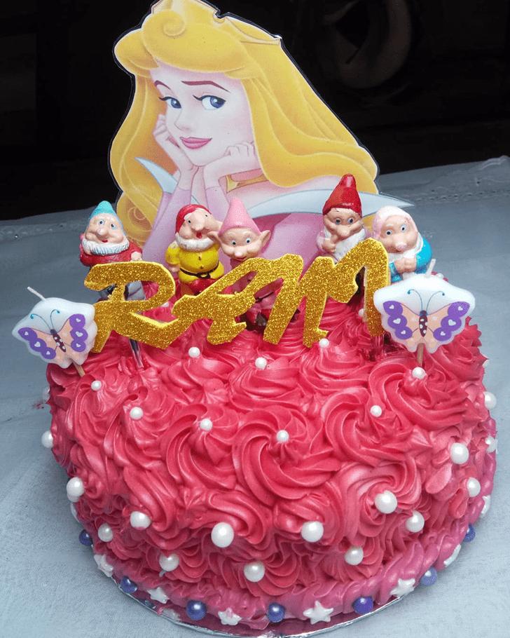 Divine Princess Aurora Cake