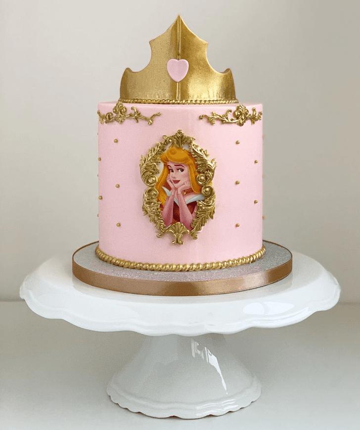 Fascinating Princess Aurora Cake