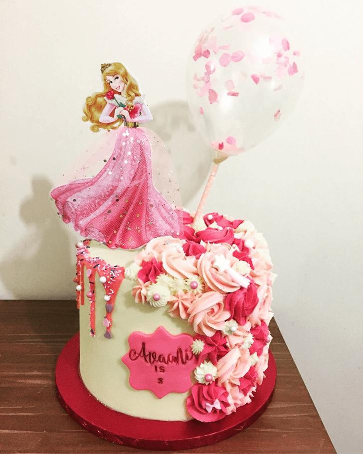Fetching Princess Aurora Cake