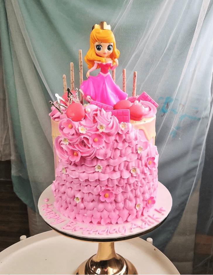 Ideal Princess Aurora Cake