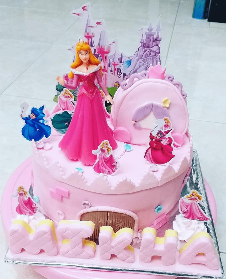 Marvelous Princess Aurora Cake