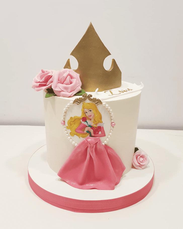Mesmeric Princess Aurora Cake