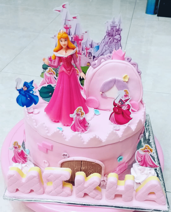 Pretty Princess Aurora Cake
