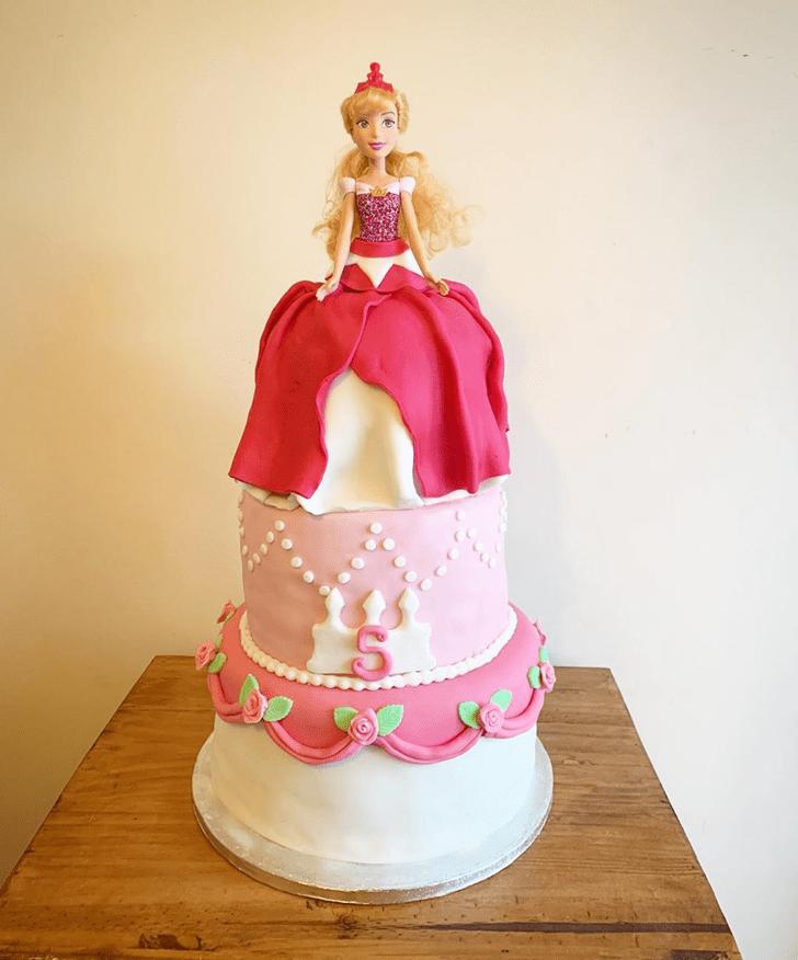 Superb Princess Aurora Cake
