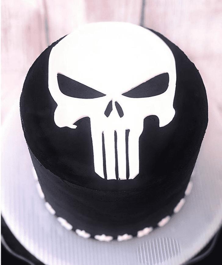Admirable Punisher Cake Design