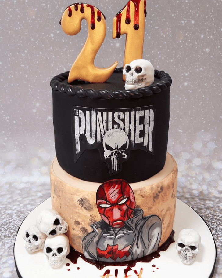 AnPunisheric Punisher Cake