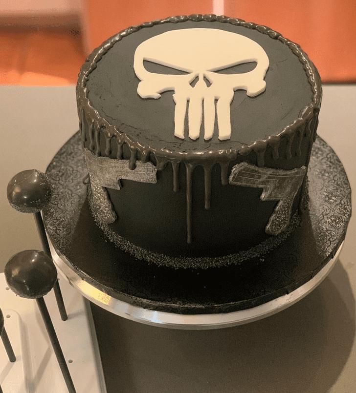 Beauteous Punisher Cake