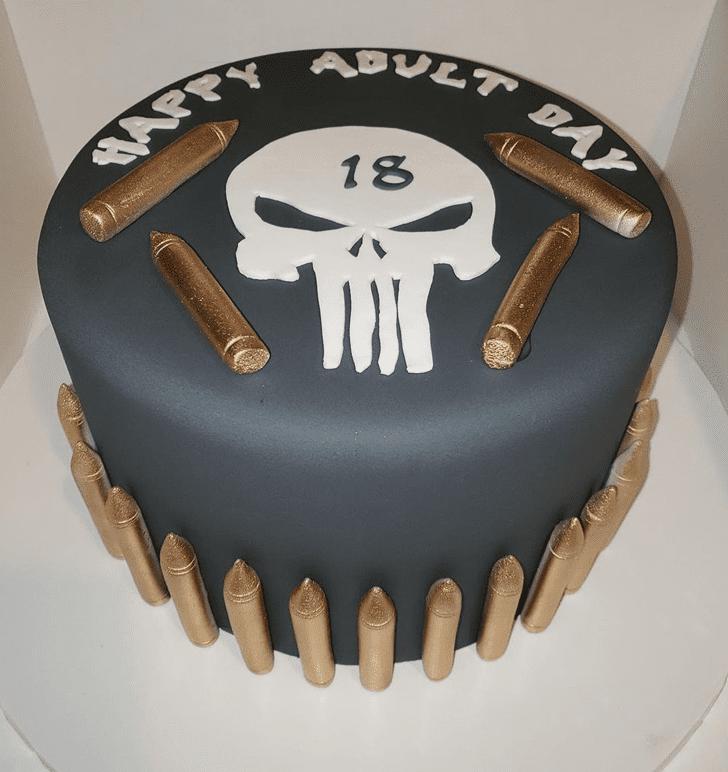 Bewitching Punisher Cake