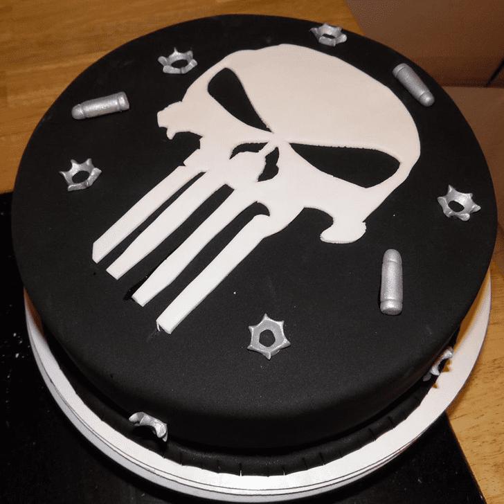 Charming Punisher Cake