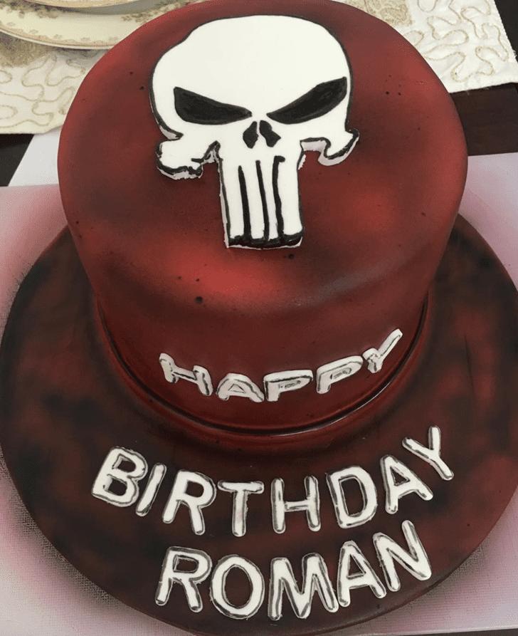 Classy Punisher Cake