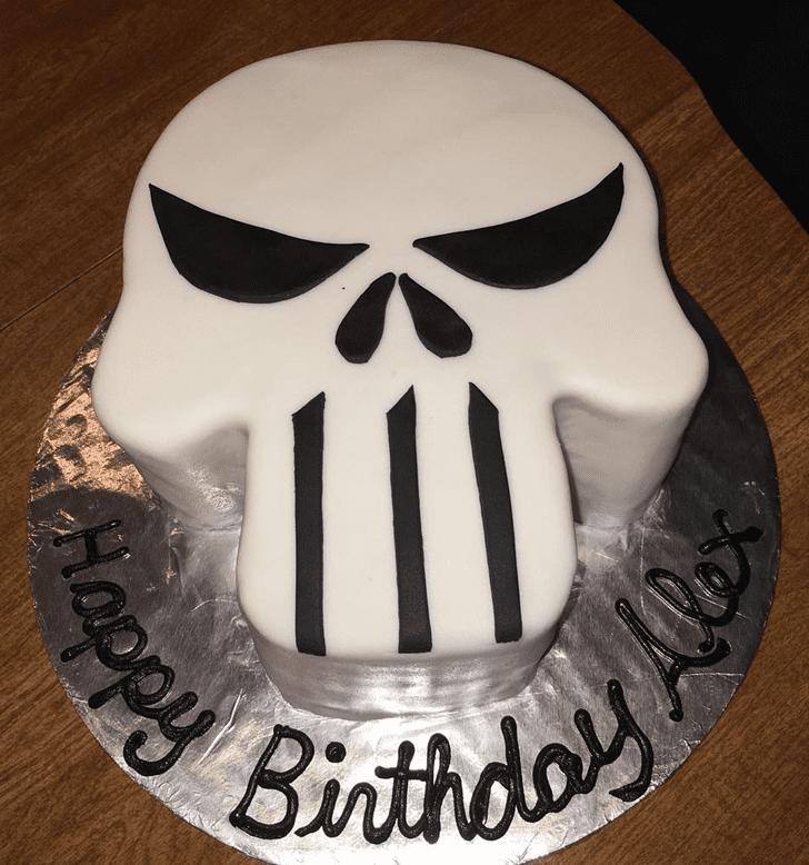 Cute Punisher Cake