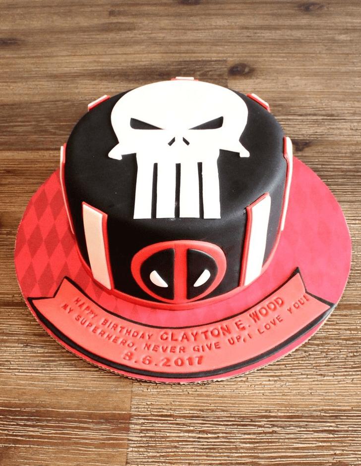 Divine Punisher Cake