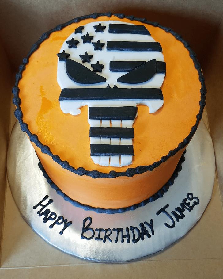 Enticing Punisher Cake