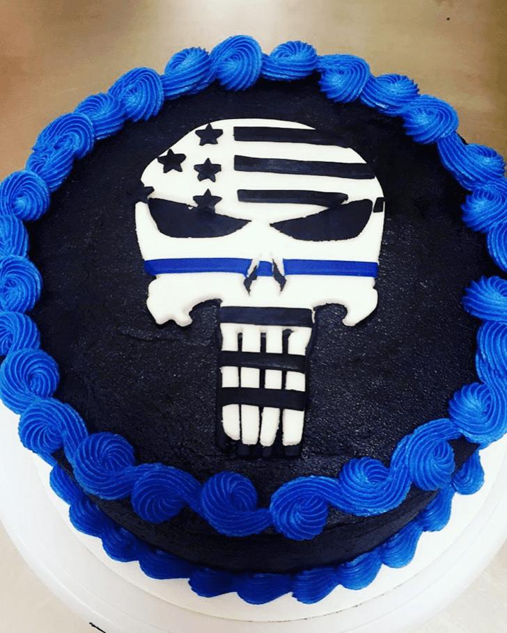 Fascinating Punisher Cake