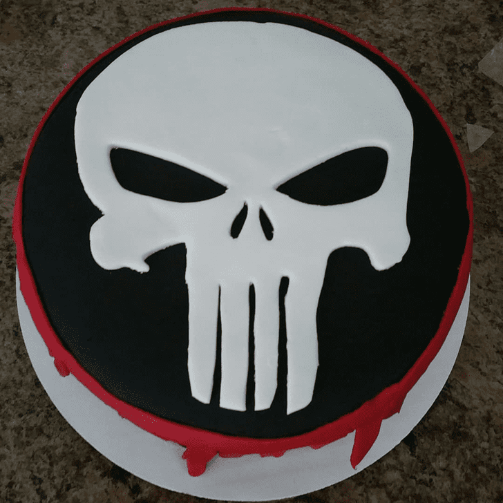 Fine Punisher Cake