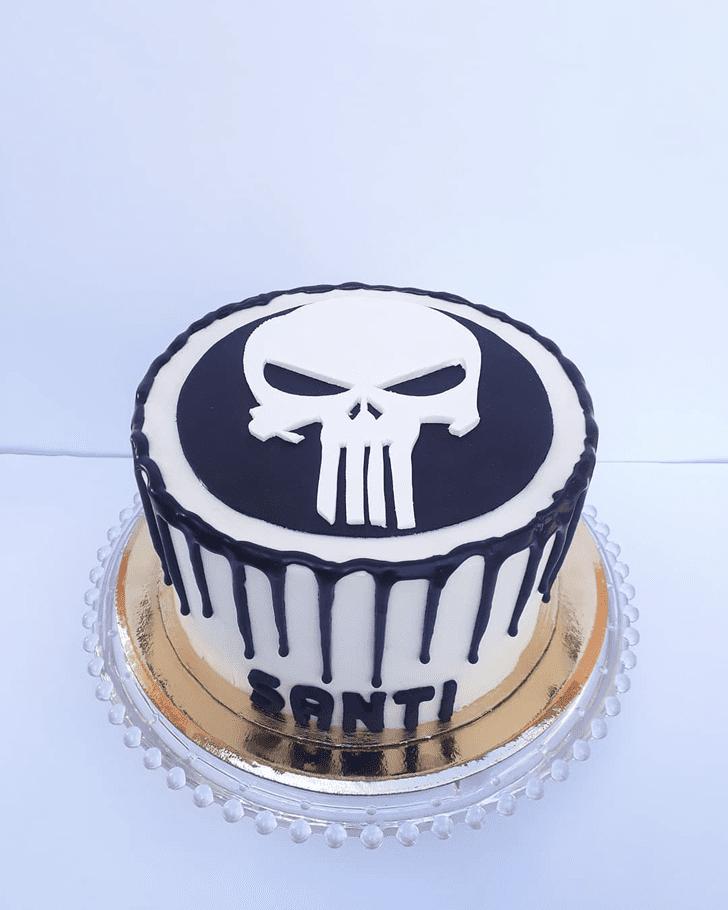 Graceful Punisher Cake