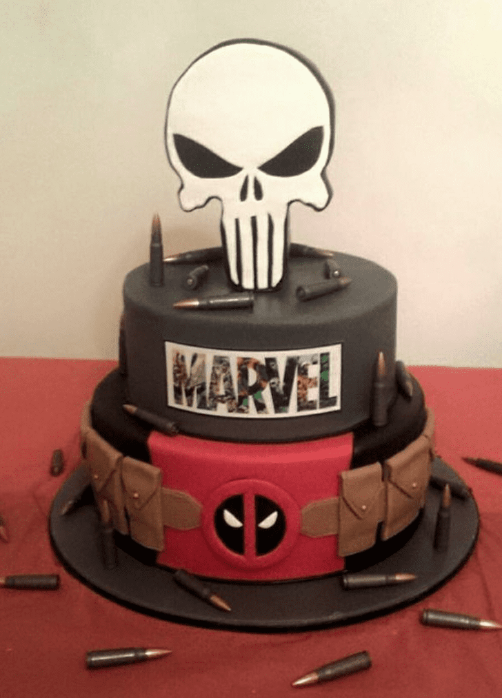 Handsome Punisher Cake