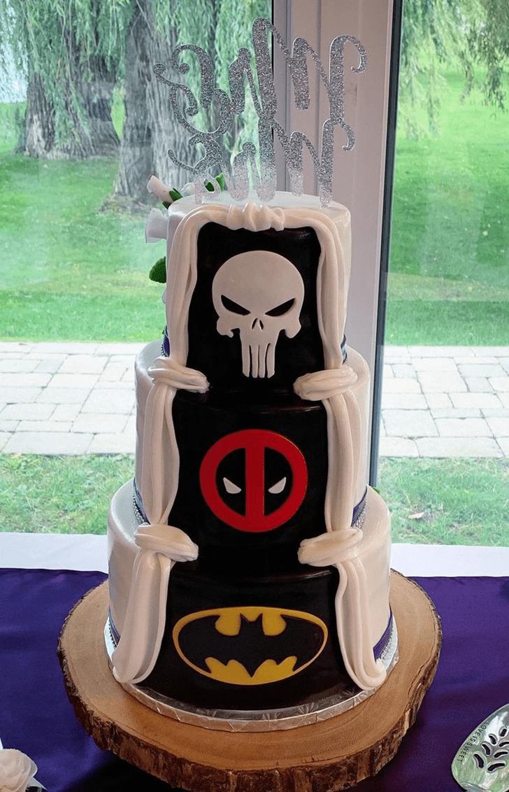 Refined Punisher Cake