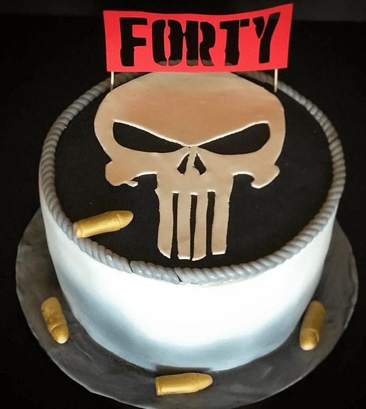 Shapely Punisher Cake