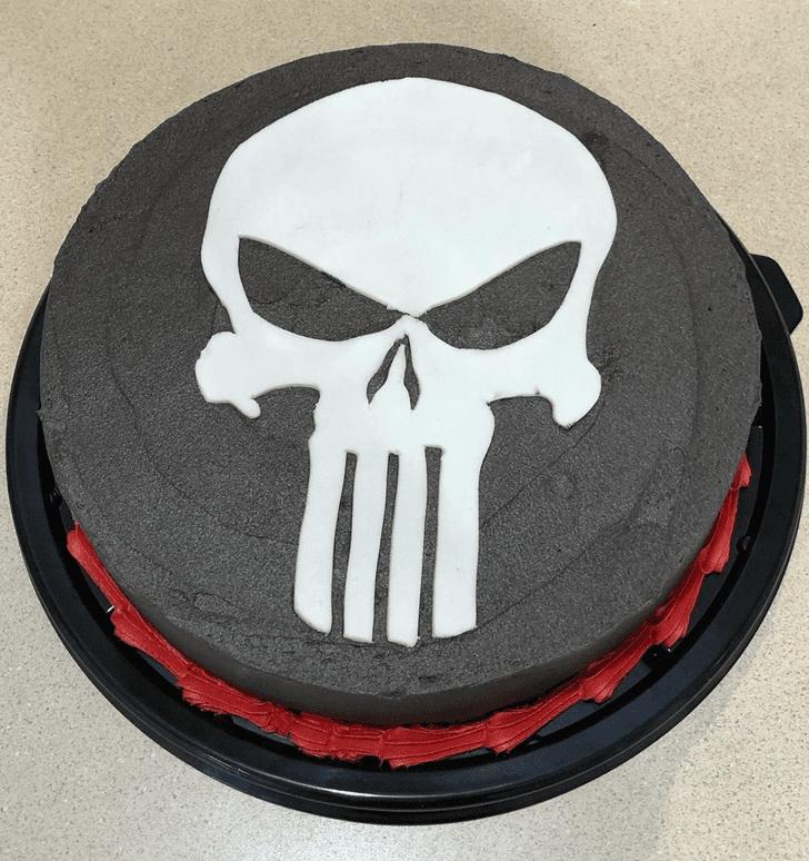 Stunning Punisher Cake