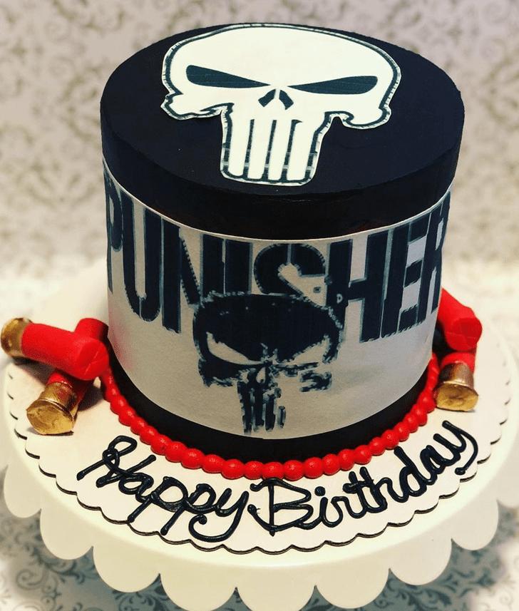 Superb Punisher Cake