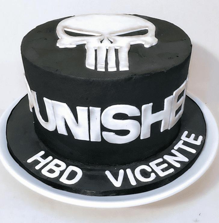Wonderful Punisher Cake Design