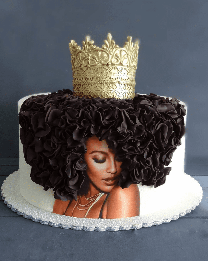 Admirable Queen Cake Design