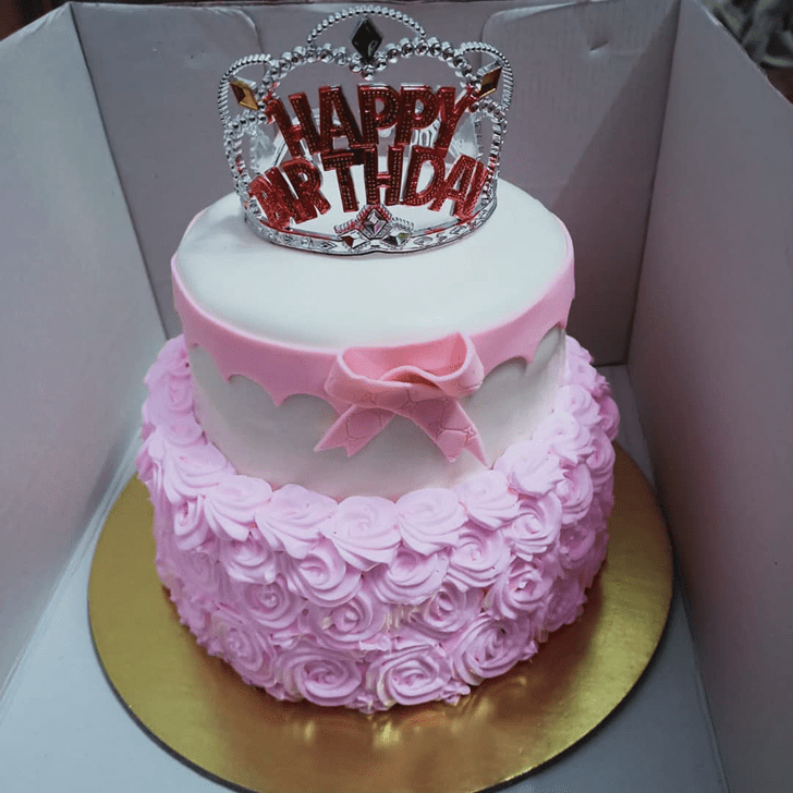 Angelic Queen Cake