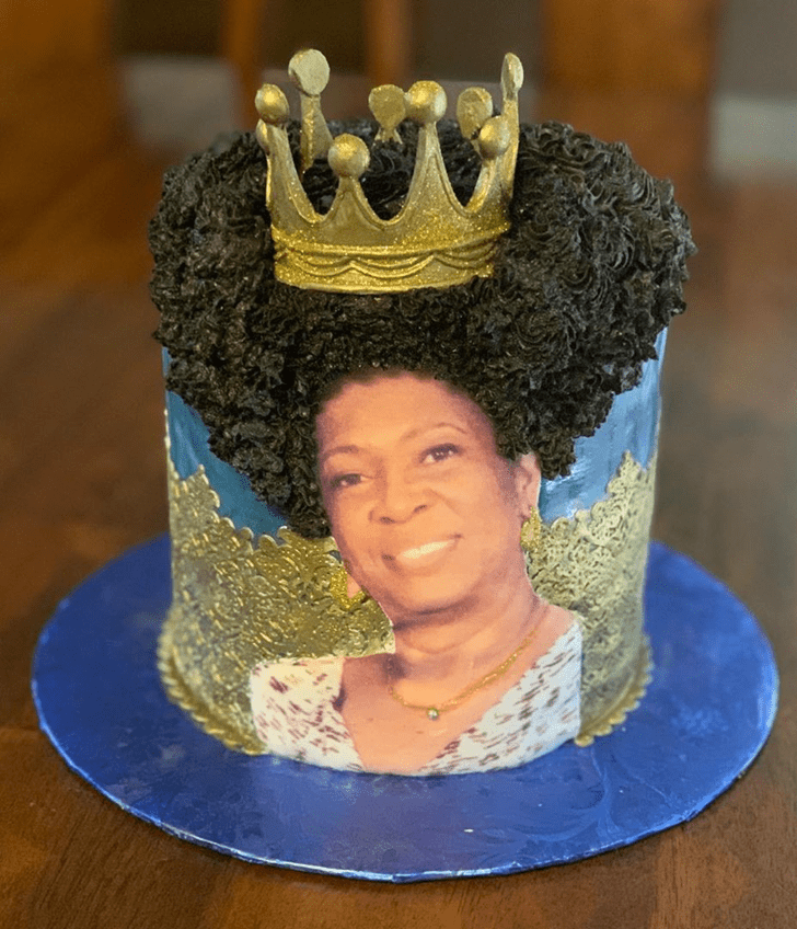Captivating Queen Cake