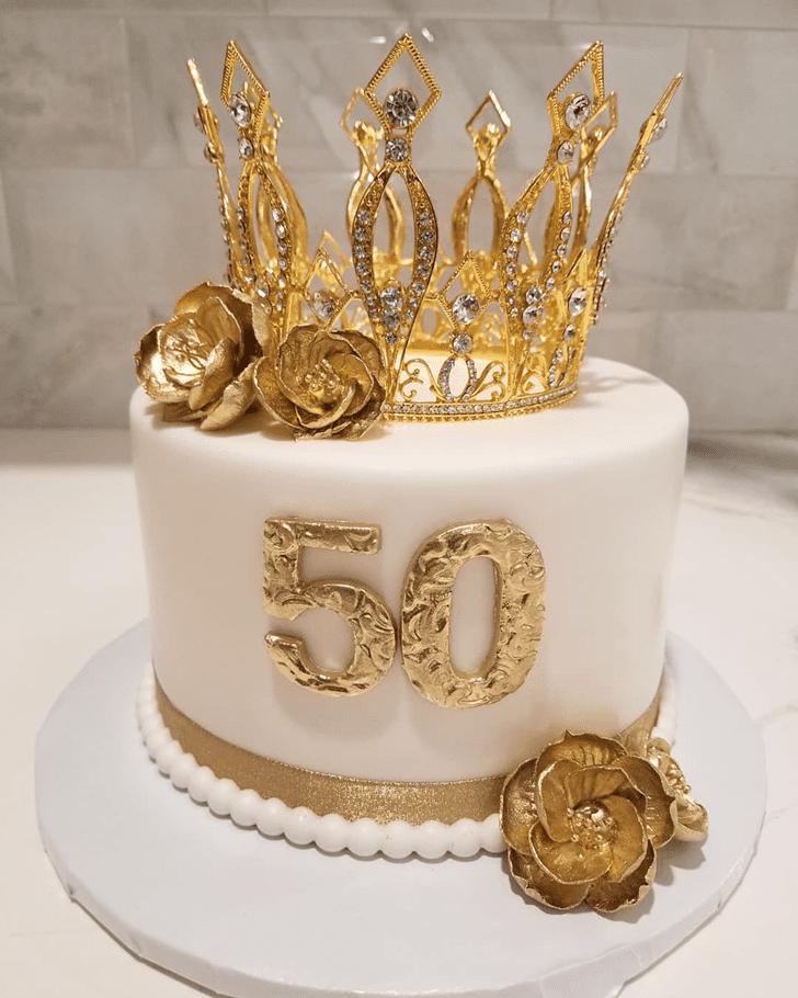 Enthralling Queen Cake
