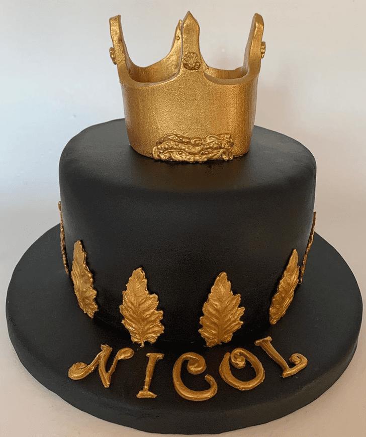 Enticing Queen Cake